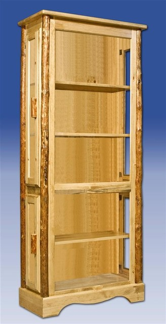 Glacier Country Collection Curio Cabinet - Contemporary - China Cabinets And Hutches - by ShopLadder