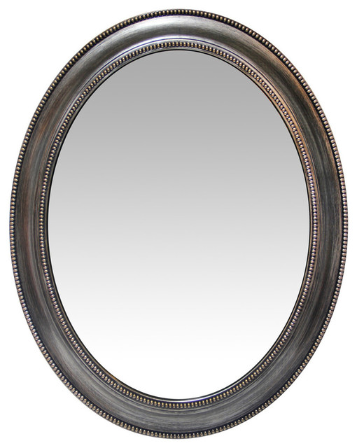 "30"" Sonore Indoor Oval Wall Mirror."