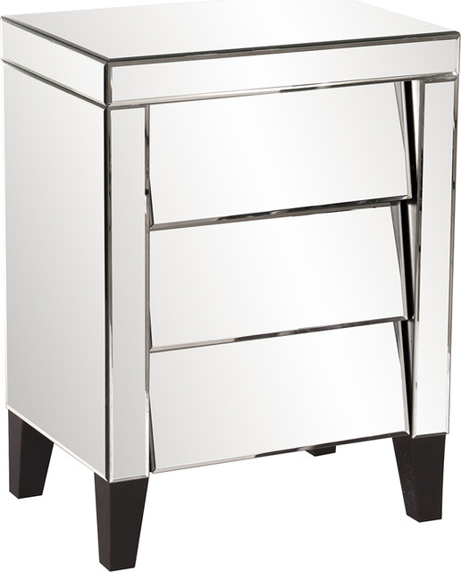 3 Drawer Dresser Contemporary Nightstands And Bedside Tables