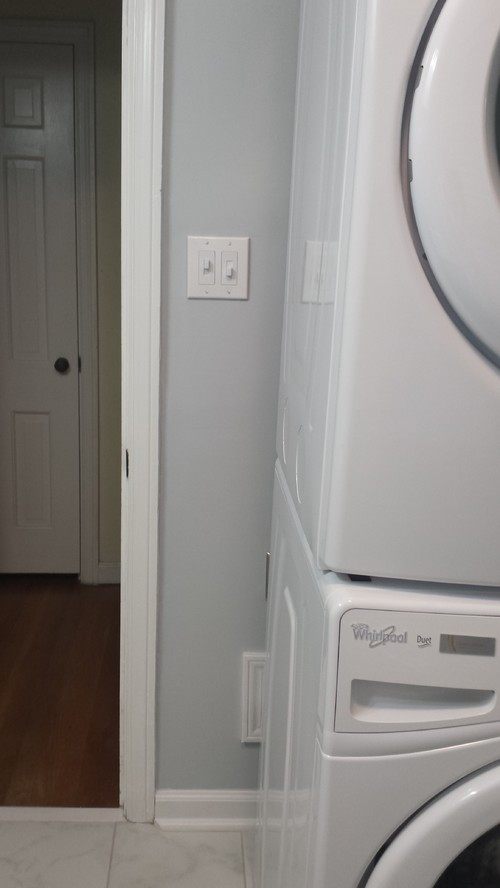How To Hide Side Of Stackable Washer Dryer