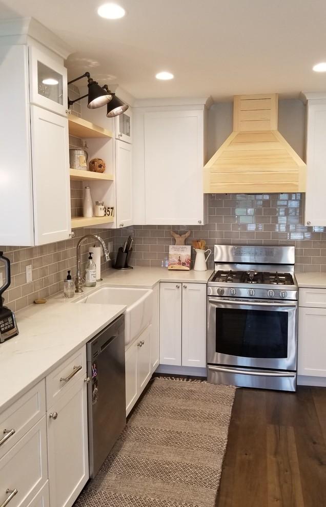 Kitchen Remodel in Niantic CT - Farmhouse - Bridgeport ...
