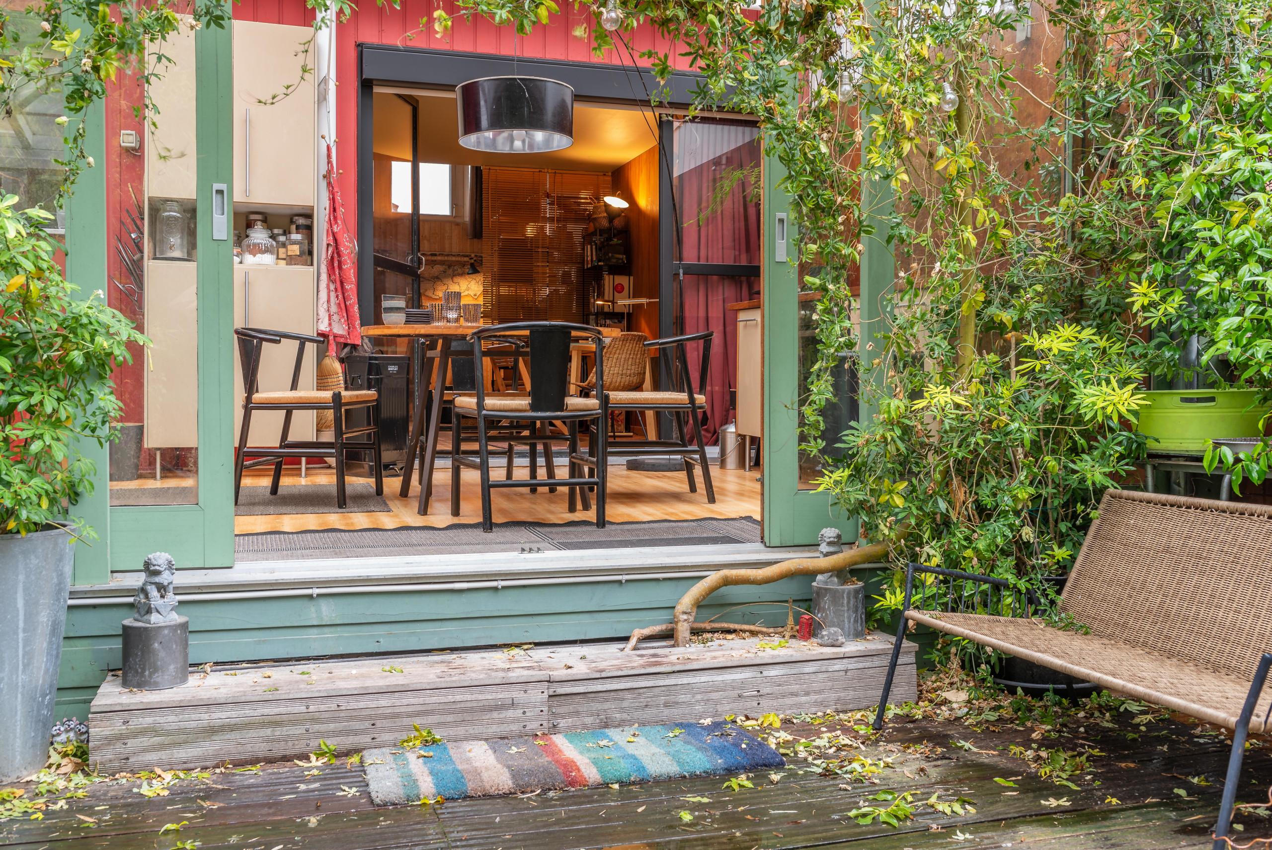 Maison en bois esprit bohème vintage