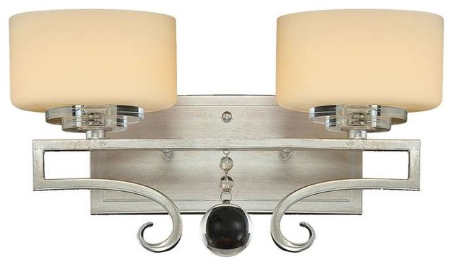 Rosendal 2-Light Bath Bar - Transitional - Bathroom Vanity Lighting - by Fratantoni Lifestyles