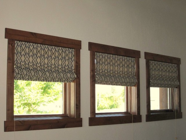 Roman Shades - Inside Mount