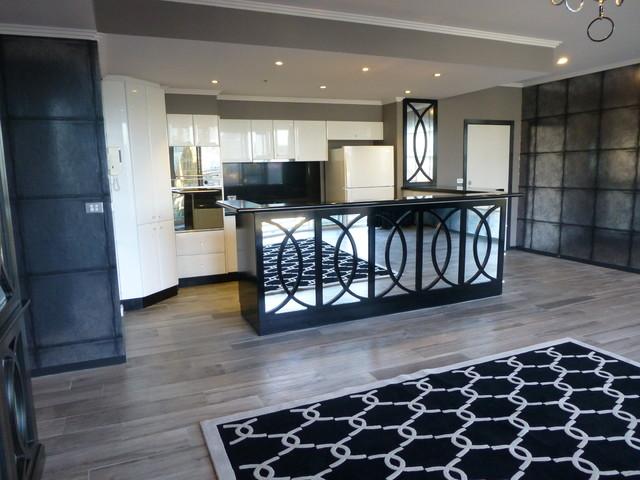 Contemporary manhattan style living area for Manhattan interior decorators