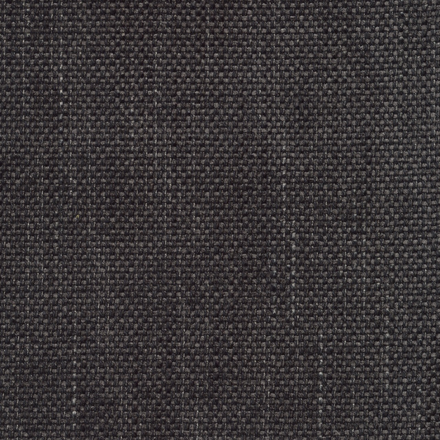 Donegal Heather Gray Black Ebony Solid Woven Textured