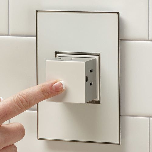 Can This Outlet Be Installed On The Top Service Of A