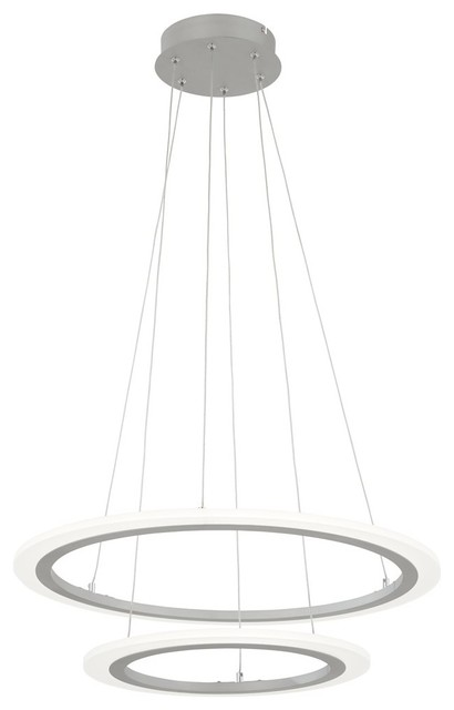 Discovery Led Pendant, Silver.