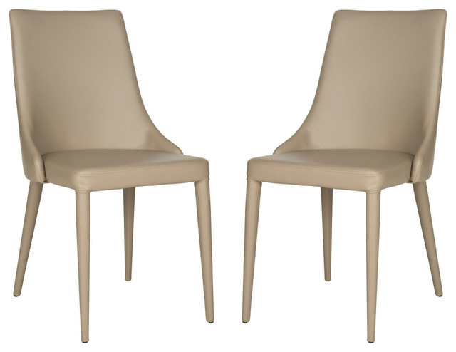 Safavieh Summerset Side Chair, Set Of 2, Taupe.