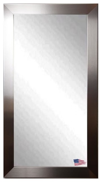 American Made Silver Grande Full Length Mirror.