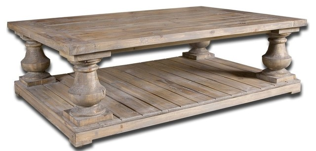 """spring Creek"" Pine Baluster Coffee Table."