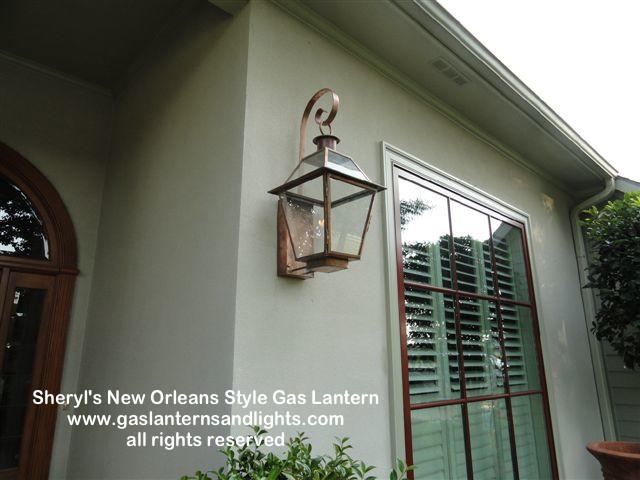 Sheryl's New Orleans Style Gas Lantern