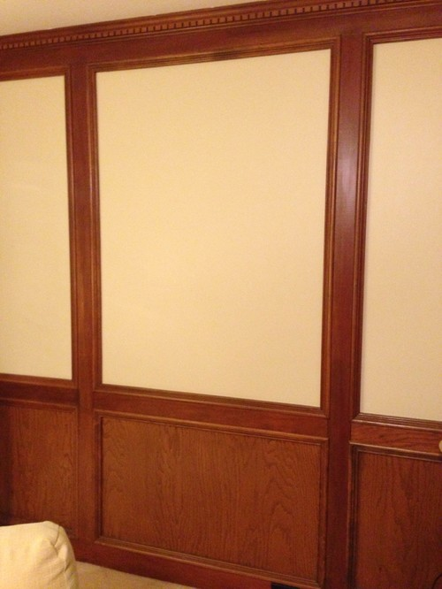 Should i paint the judges paneling in my den Should i paint wood paneling