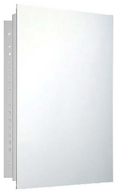 """Deluxe Series Medicine Cabinet, 20""""x26"""", Polished Edge, Recessed"""