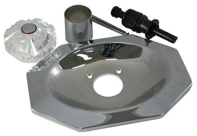 Danco Chrome Shower Faucet Trim Kit Price Pfister Avante