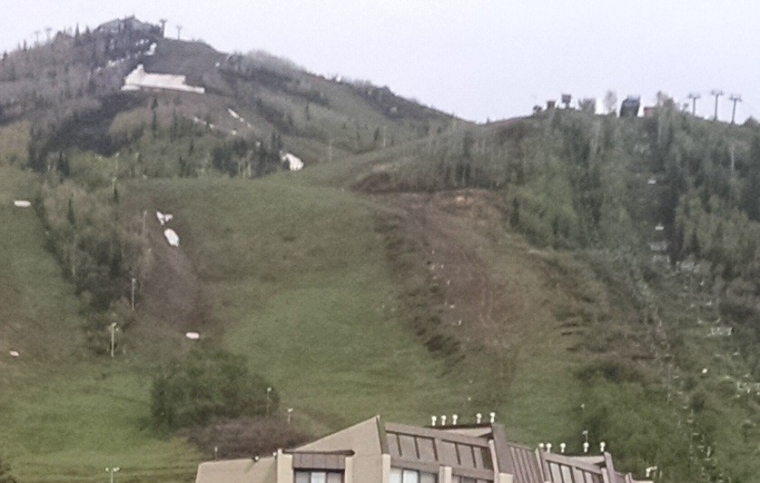 Reclamation on The Steamboat Ski area