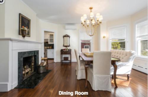 Dining Room Living Swap
