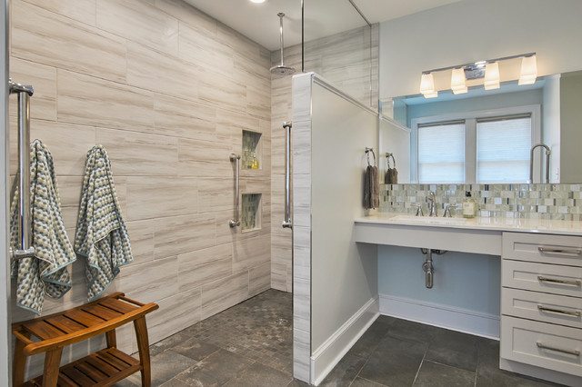 Bathroom Of The Week A Serene Master Bath For Aging In Place