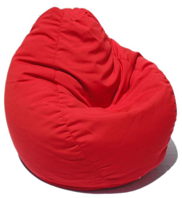 Bean Bag Boys Fabric Chair China Red