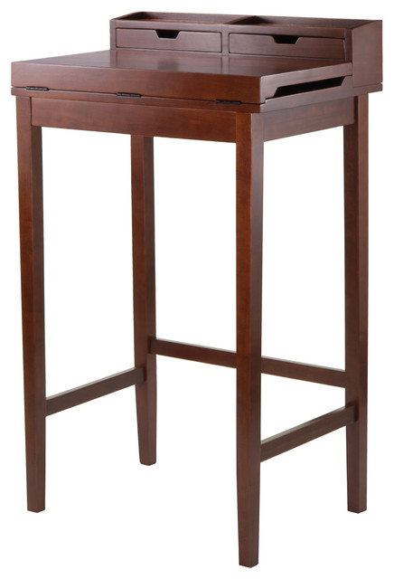 Brighton High Desk With 2 Drawers.