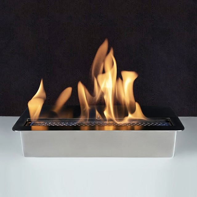 ethanol fireplace insert canada with logs slim burner bio modern indoor fireplaces lowes