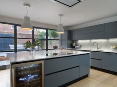 Kitchen Tour: An Imposing Extension Shrinks to Let in More Light