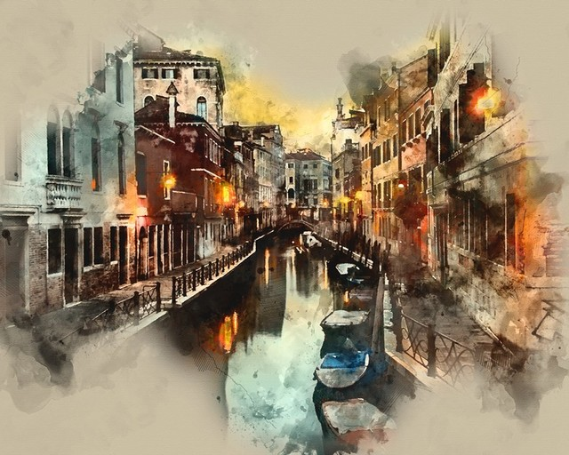 Venice Wall Art - Contemporary - Prints And Posters - by Castle & Rye