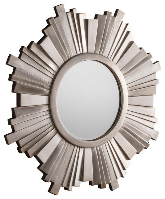 Sunburst Wall Mirror, 109x109 cm