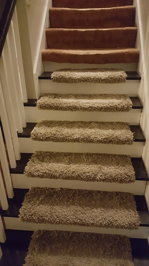 Captivating Stair Runner Help. 2 Diff Width Treads. How Wide To Make Carpeting?
