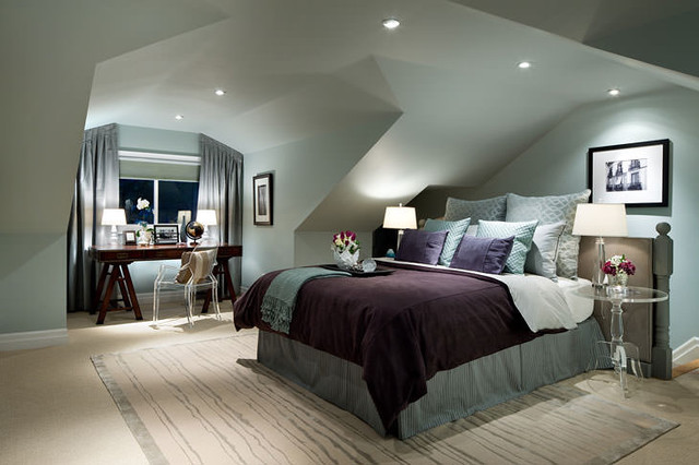 Jane Lockhart Attic Bedroom modern-bedroom