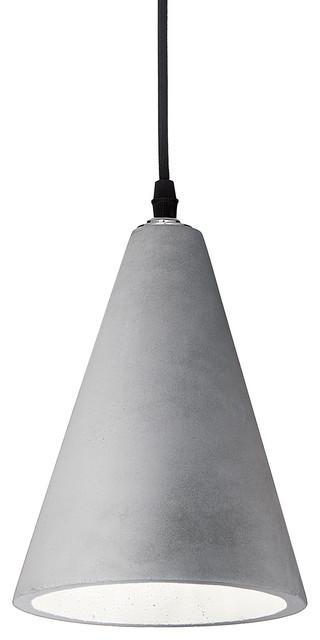 Ideal Lux Oil 2 Cement Pendant