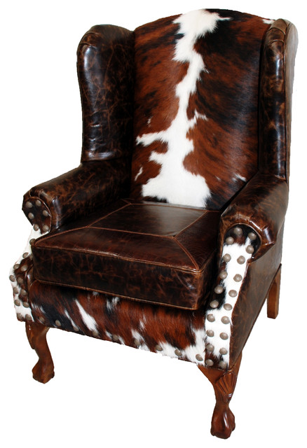 Santa Fe Wing Back Chair by Great Blue Heron