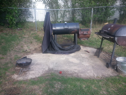 Genial Help With Backyard Grill Area. Need To Make This Look Better!