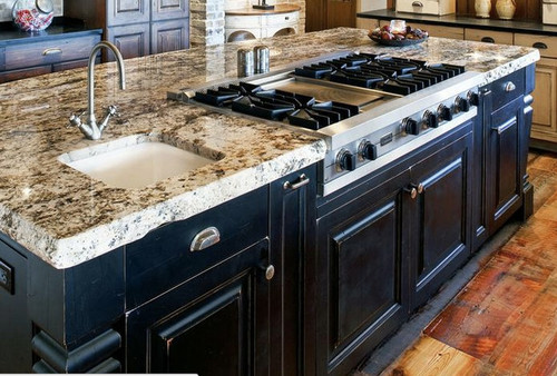 Lovely Also Love The Thickness Of The Granite  Is This A Style That Is Easy To  Come By ?