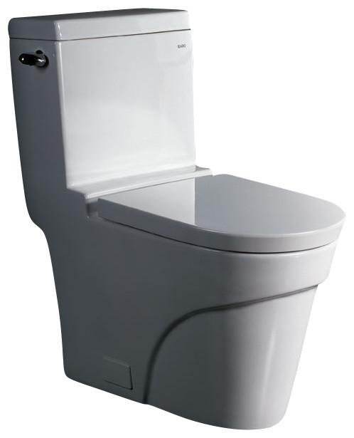 One Piece Ultra Low Flush Eco Friendly Ceramic Toilet