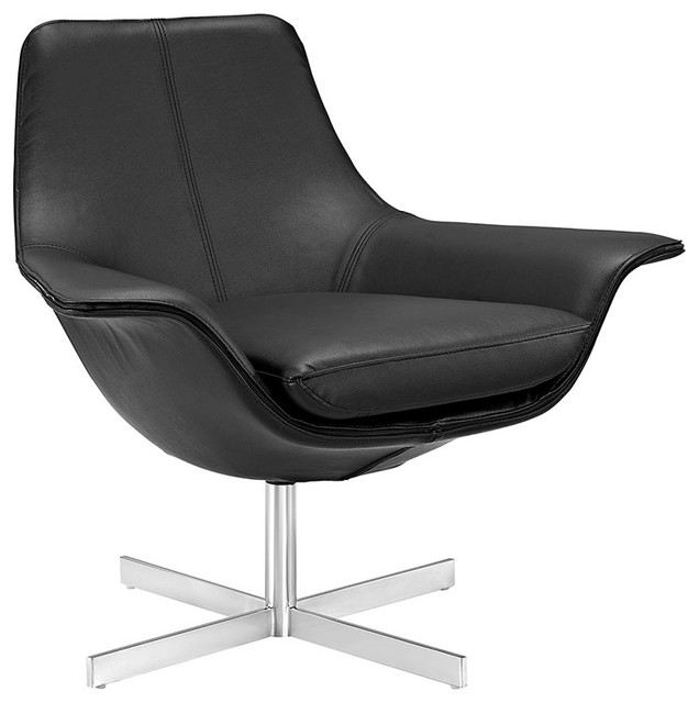 release bonded leather lounge chair black chairs - Leather Lounge Chair