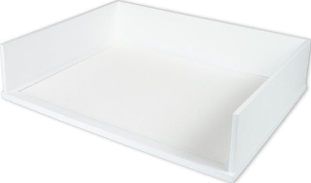 Victor Technology Llc Stacking Letter Tray Black Desk