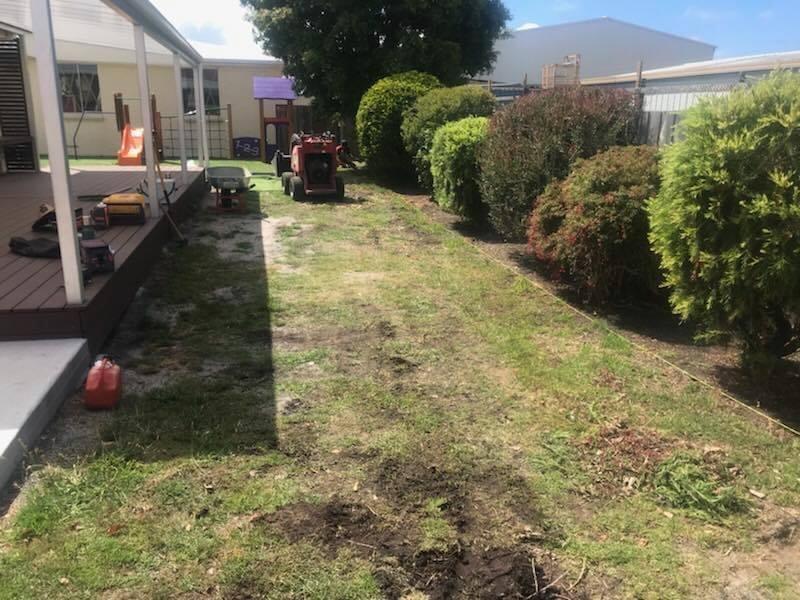 St Helens District High School Kindergarten yard refresh