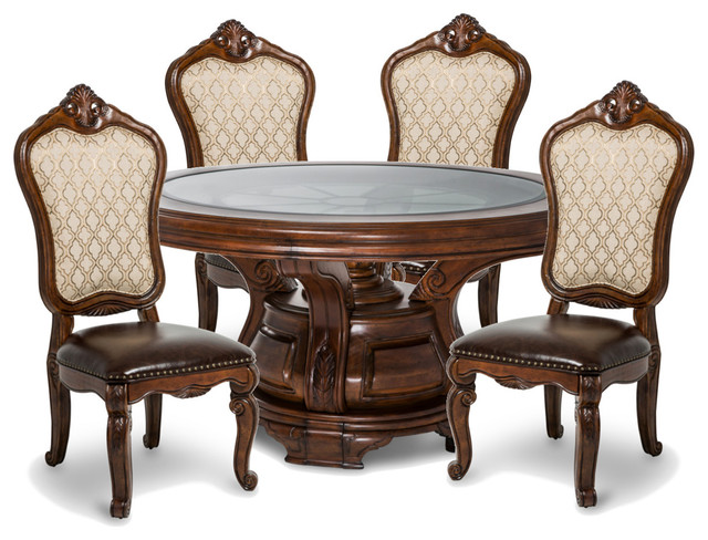 Aico Tuscano Round Dining Table Set Melange Victorian Dining Sets By Massiano