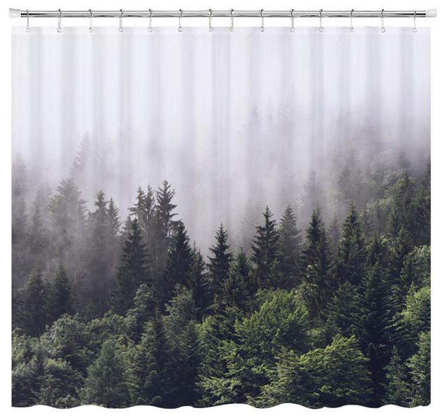 Misty Forest Shower Curtain Standard