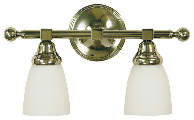 2-Light Taylor Sconce, Antique Brass - Transitional - Bathroom Vanity Lighting - by Framburg