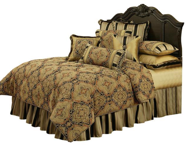 Austin Horn Clics Ravel 4 Piece Queen Bedding Collection