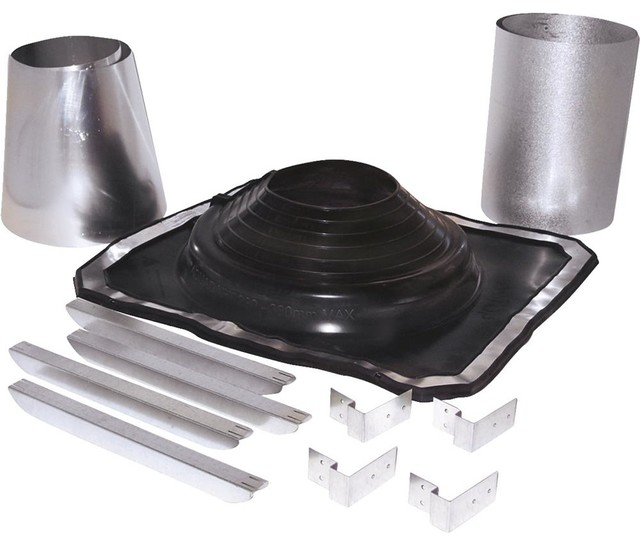 Selkirk rubber boot roof pipe flashing kit heating and