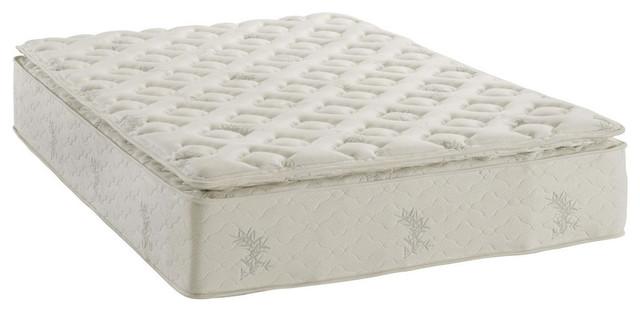 "13"" Thick Pillow Top Pocket Coil Inner Spring Mattress"
