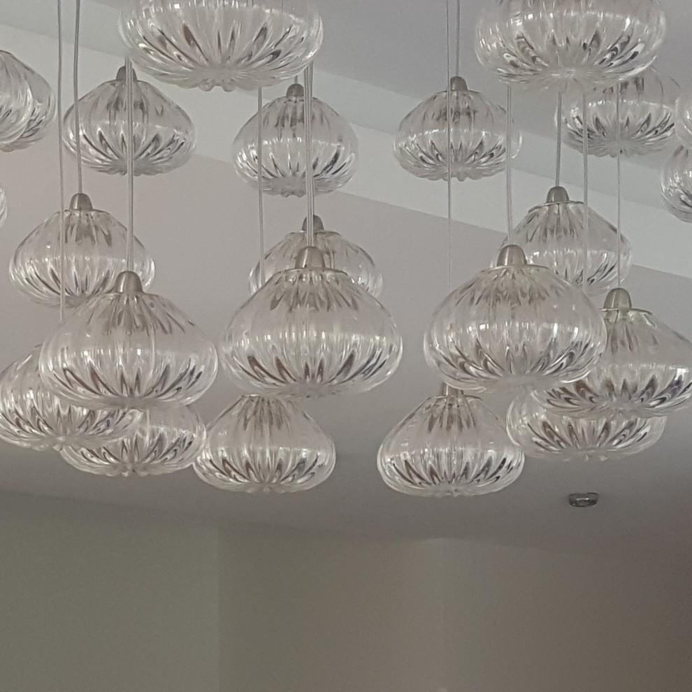 bespoke lighting - cool white instead of warm white light