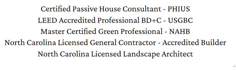 Credentials, Schreiner Design