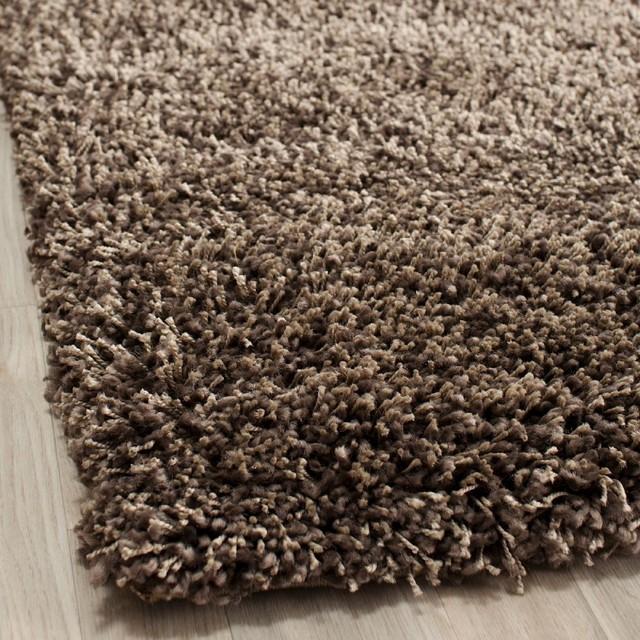Brown Shag Area Rugs shag shag area rug - contemporary - area rugs -rugpal