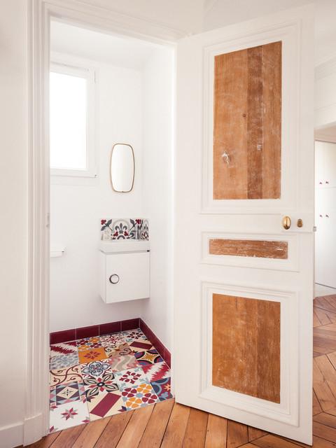 grand appartement haussmannien 180m2 retro paris av marion alberge d coration. Black Bedroom Furniture Sets. Home Design Ideas