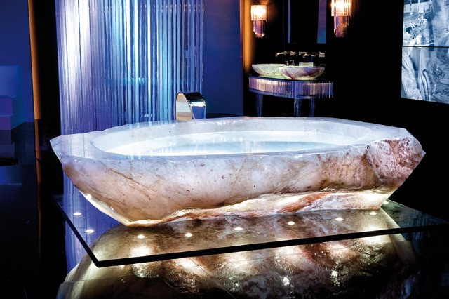 Rock Crystal Bath Tub Amp Reviews Houzz