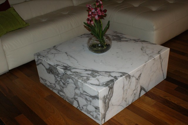 Coffee Table Quartz Marble Granite Contemporary Coffee